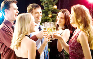 Holiday Business Party - Drinking and Cheating