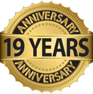 Years in Business Badge